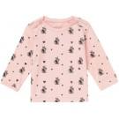 Oud roze t-shirtje met konijntjes - old blush Isriana - maat 68 (Geboortelijst Pippa P.)