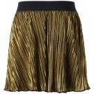Gouden plisérok - skirt lone