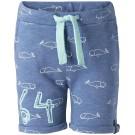 Grijsblauw shortje met walvis - french blue elfers - maat 86 (Geboortelijst Pippa P.)