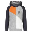Sportieve sweater met vlakken - tygo - maat 104 (Geboortelijst Emiel V.d.M.)