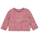 Oud roze t-shirt met motiefje - miauw VAyk  (stapelkorting)