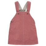Roze ribfluwelen salopetkleedje - channanon (stapelkorting)