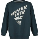 Donkerblauwe sweater - Never ever what ever Boulder