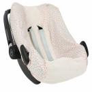 Beschermhoes autostoel pebble met moonstone
