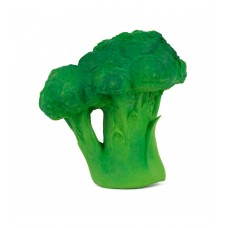 Bijt- en badspeeltje Brucy de broccoli