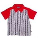 Hemdje met viskommotief - fish bowl shirt eppo  (stapelkorting)