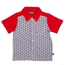 Hemdje met viskommotief - fish bowl shirt eppo