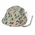 Zonnehoedje met kersjes - hat summer cherry  (stapelkorting)