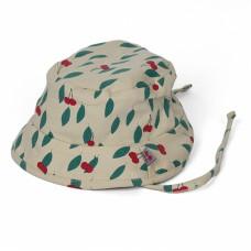 Zonnehoedje met kersjes - hat summer cherry