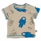 Beige t-shirt astronaut - shirt emi astronaut