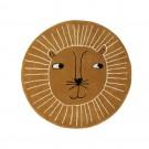 Vloerkleed leeuw - Lion rug caramel