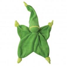 Groen peppa sisco- knuffelpopje