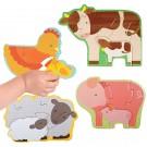 Mijn eerste puzzel : de dieren van de boerderij (Geboortelijst Franne Suy )