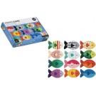 Memoryspel : de vissen (Geboortelijst Franne Suy )