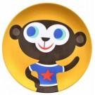 Melaminebord aap (Geboortelijst Florien V.R.)