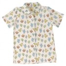 Hemdje korte mouwen met cactussen - jersey shirt cati