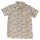 Hemdje korte mouwen met volkwagenbusjes  - jersey shirt campervans