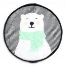 Soft speel- en opbergzak polar bear