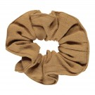 Karamelbruine scrunchie - Chou chou brown sugar