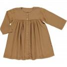 Karamelbruin kleedje - Robe aubépine brown sugar
