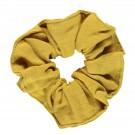 Mosterdgele scrunchie - Chou chou honey