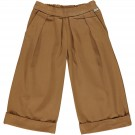 Karamelbruine culotte broek - Pantalon jonc brown sugar