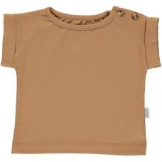 Karamelbruine t-shirt - Tshirt bourrache brown sugar