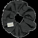 Donkergrijze scrunchie - Chouchou pirate black noos