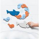Foam badpuzzel haaien