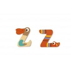 Houten letter Z