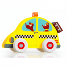 Houten dienstvoertuig : taxi