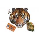 XXL contourpuzzel tijger - I am tiger