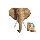 XXL contourpuzzel olifant - I am elephant