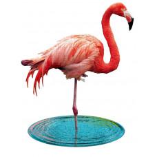 XXL contourpuzzel flamingo- I am lil' flamingo