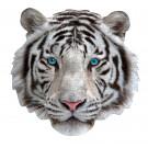 XL contourpuzzel witte tijger - I am white tiger