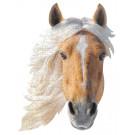 XL contourpuzzel paard- I am horse