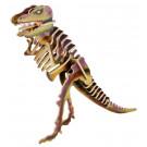 Houten 3D- puzzel dino- tyrannosaurus