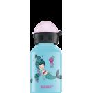 Lichtblauwe drinkbus met zeemeermin - 300 ml