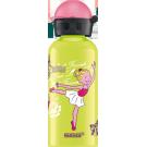 Limoengroene drinkbus met ballerina 400ml