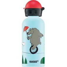 Lichtblauwe drinkbus beer op een koord 400ml