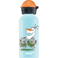 Lichtblauwe drinkbus olaf- Frozen 400ml