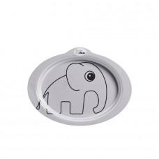 Anti-slip bord grijs met olifant - Done by deer