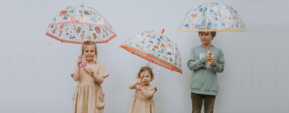 De paraplu: eerste hulp bij regenweer