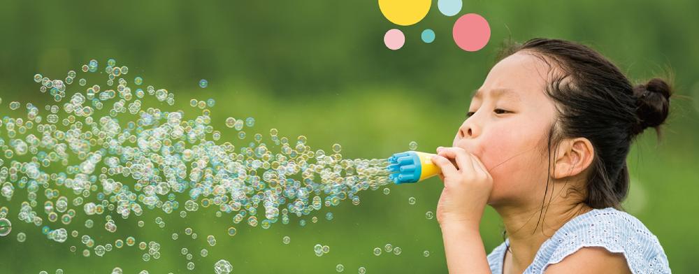 Uncle Bubble: alle soorten bubblepret