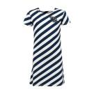 Blauw - wit gestreept kleed - insta famous vibes navy