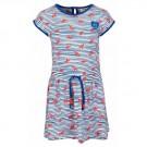 Gestreept kleedje met goudvissen - Nemo kobalt  - maat 98 (Geboortelijst ...)