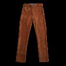 Bruine ribfluwen broek - jet brown