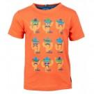 Oranje t-shirt met cactussen - Orange fiesta