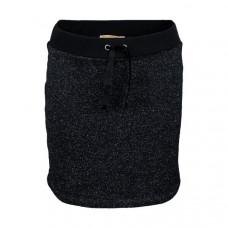 Zwart sportief rokje met glitters - Sansa black