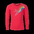Fuchsia t-shirt met eenhoorn - Zanna bright pink